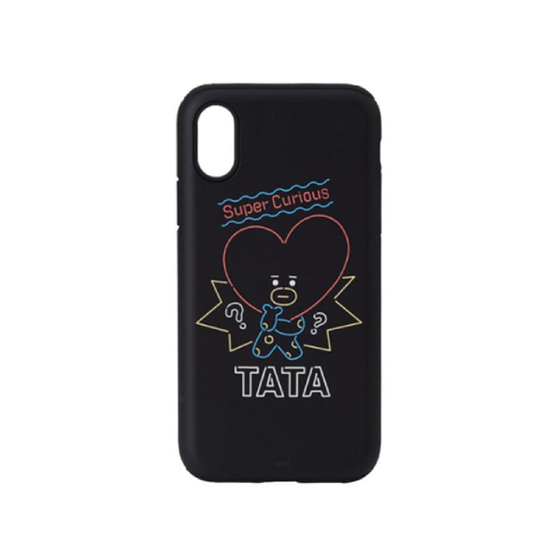 BT21 iPhone X Tata Poster Bumper Case