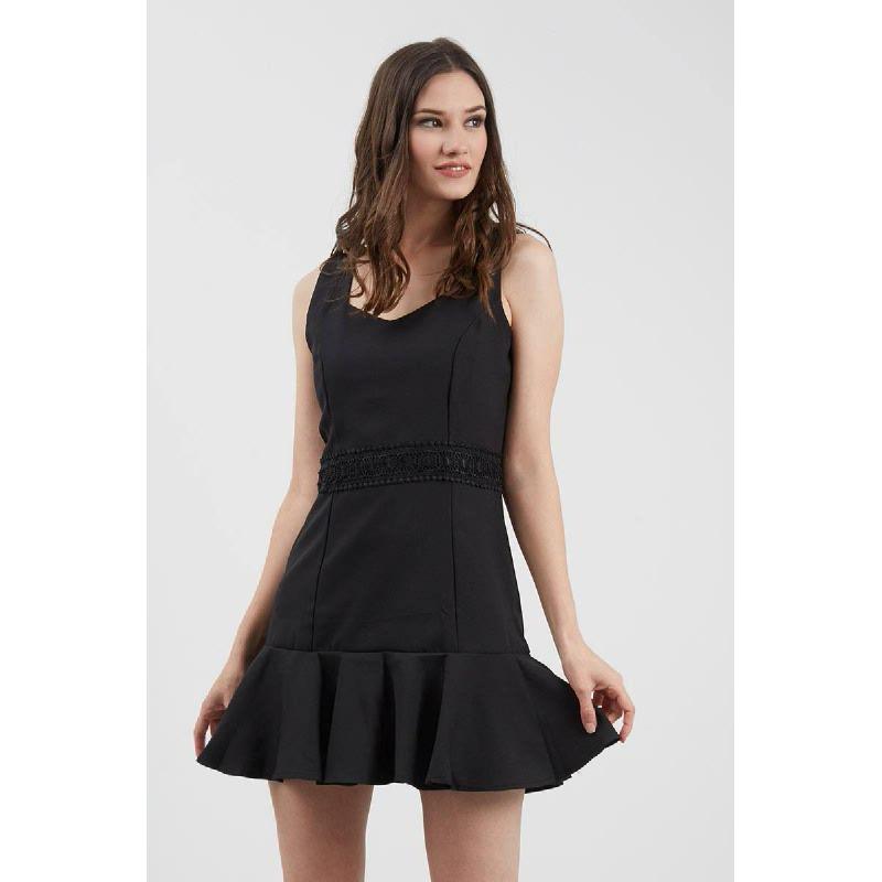 GW Gifhorn Dress in Black