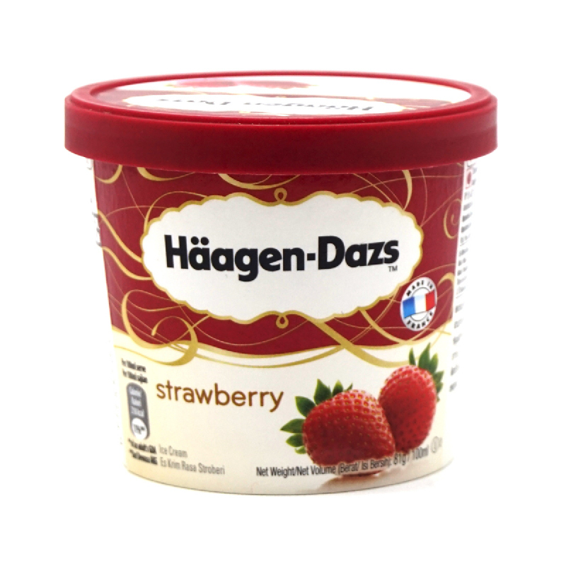 Haagen Dazs Strawberry 100 Ml
