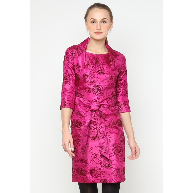 VESPERINE Hanami Magenta Dress 511