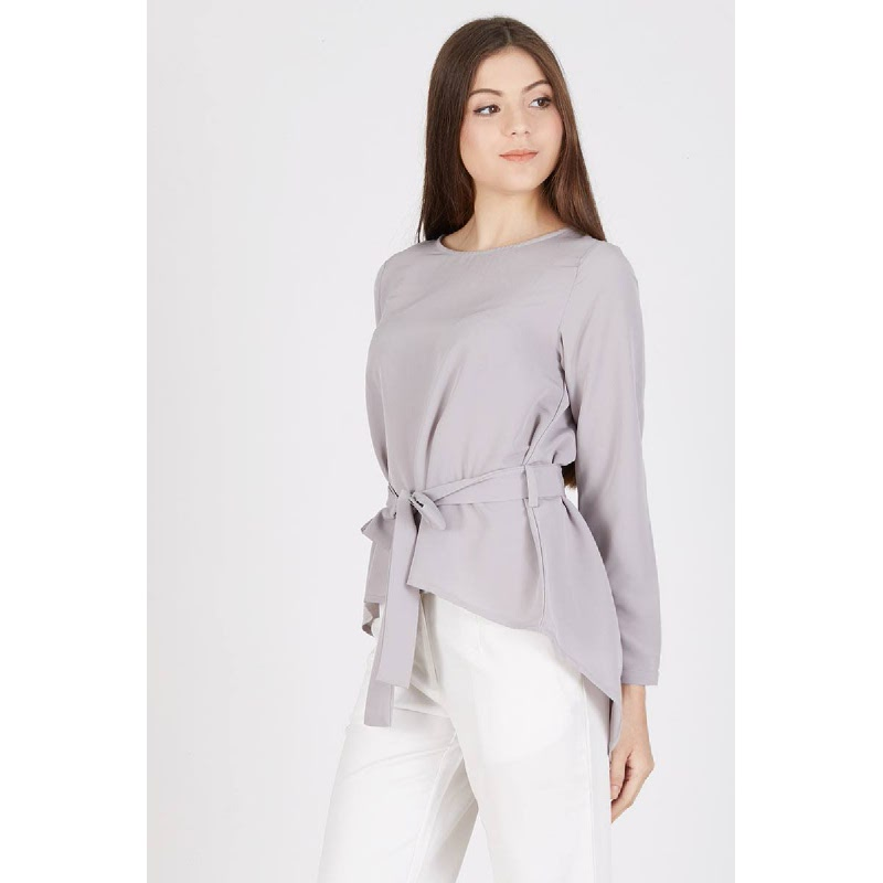Raziela Top Grey