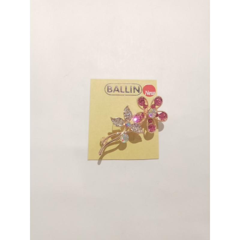 Ballin - Women Brooch LF BRXZ8070 12 Silver