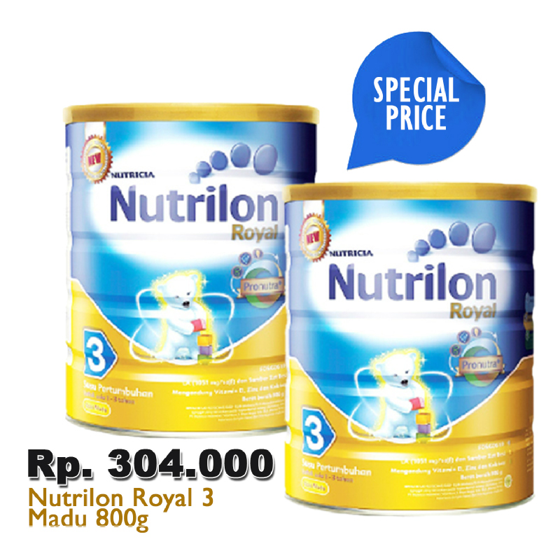 Nutrilon Royal 3 Honey 800G [2 Box]