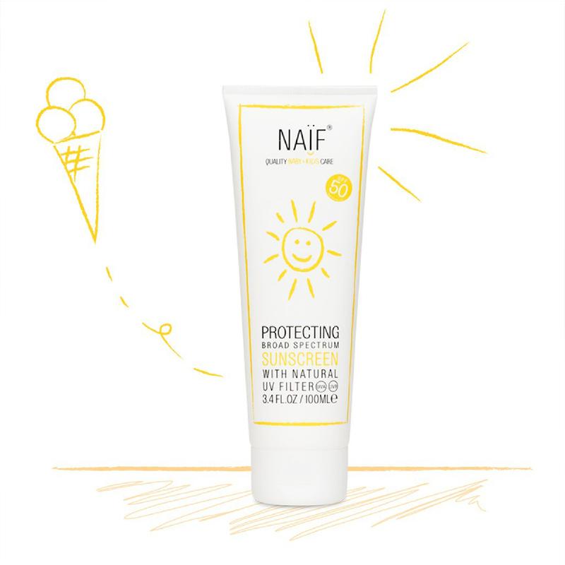 NAIF Protecting Sunscreen (SPF 50) 100ml