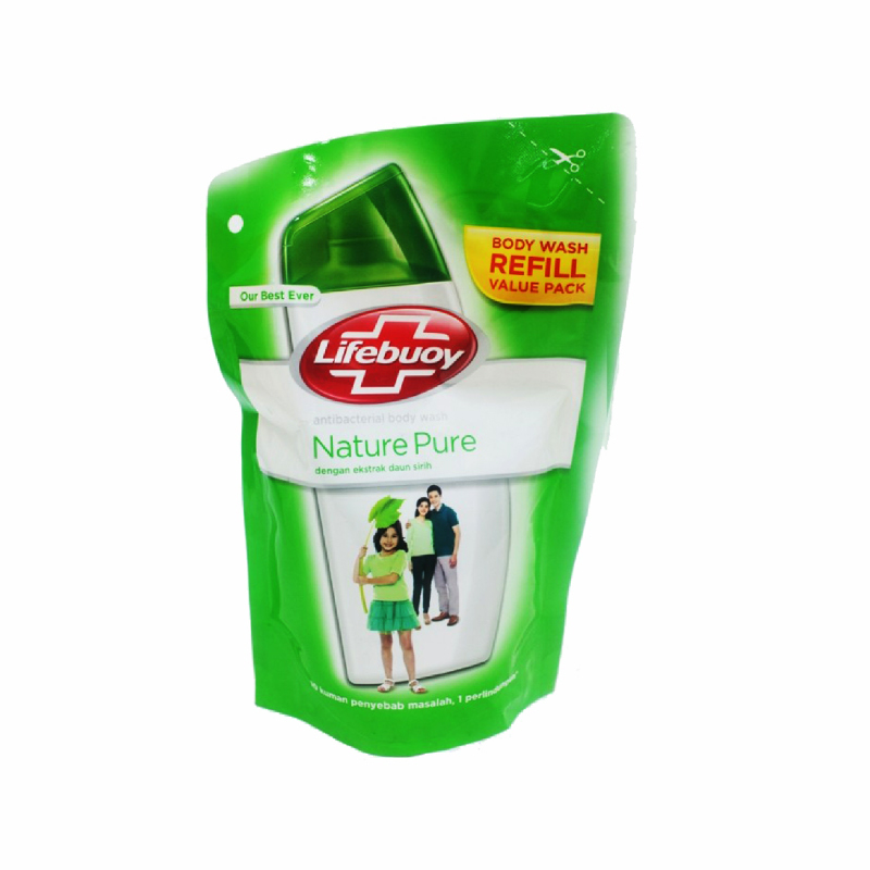 Lifebuoy Body Wash Naturepure Refill 450 Ml