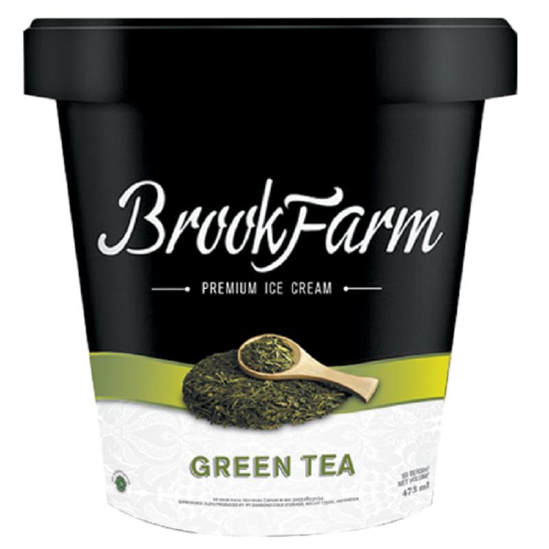 Brookfarm Ic Greentea 473Ml