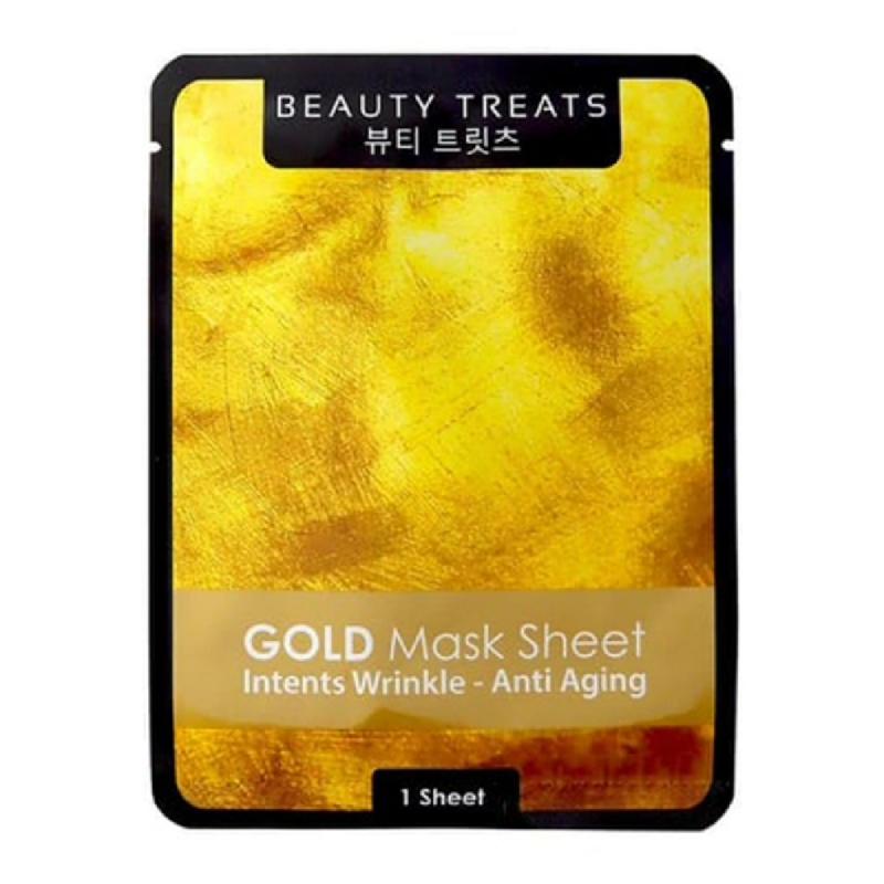 Beauty Treats Mask Sheet Gold