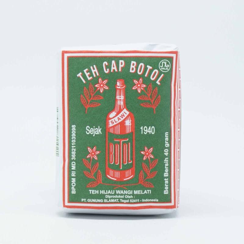 Cap Botol Slawi Teh Cap Botol Hijau 40 Gr