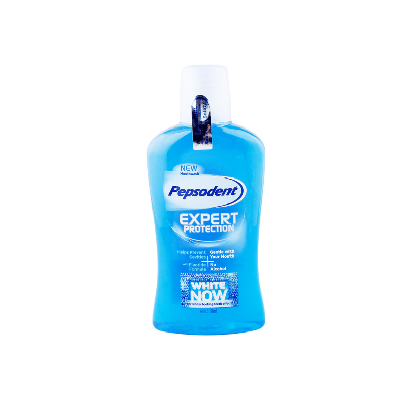 Pepsodent Mouthwash White Now 500Ml
