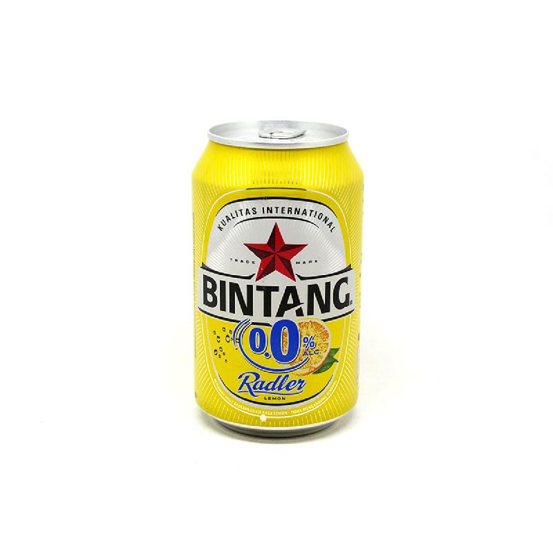 Bintang Bir Radler Bir Lemon 0,0% Alkohol 330 Ml