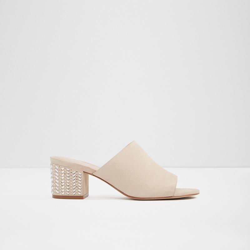 Aldo Ladies Heeled sandals EDAREMMA-32-270 Bone
