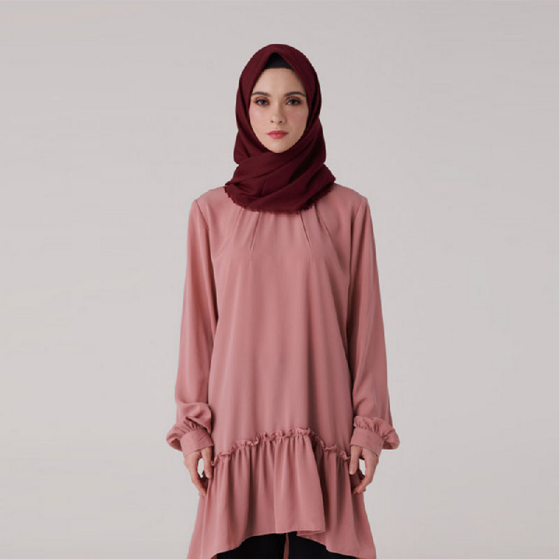 Suqma Suzette Blouse Dusty Pink