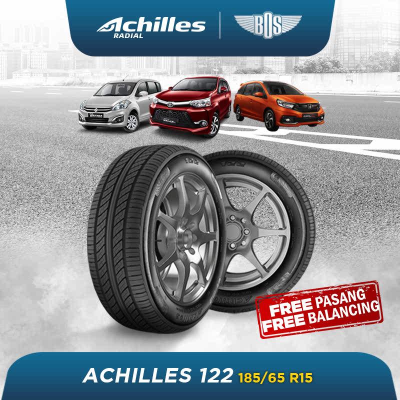 Achilles 122 Ban Mobil - 185-65 R15 88H - GRATIS JASA PASANG DAN BALANCING