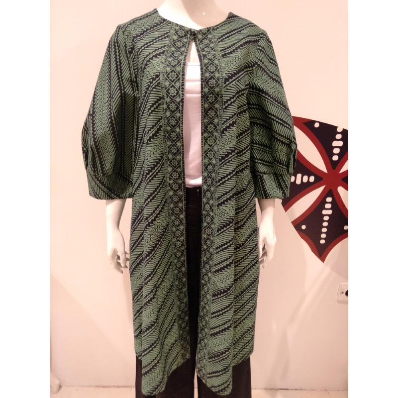 Astari Batik Coat Green