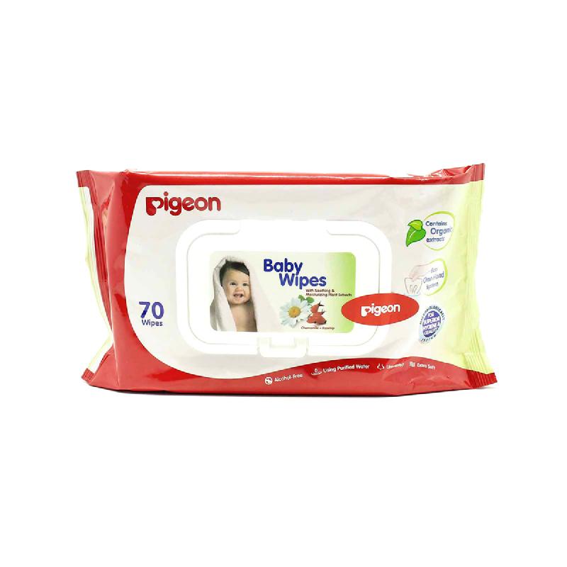 Pigeon Tisu Basah Bayi 70 Sheet
