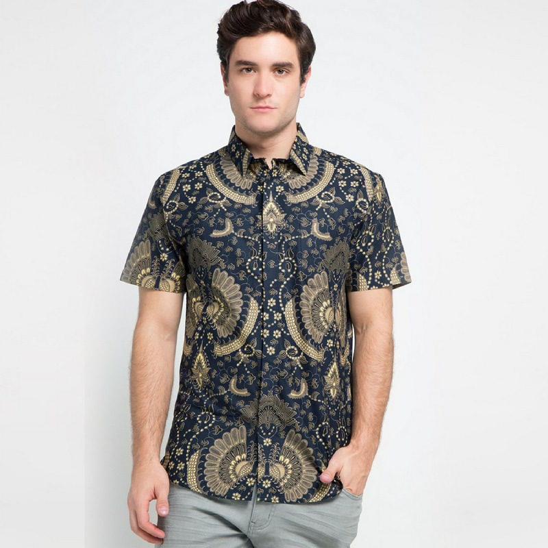 Arthesian Batik Pria Devano Blue