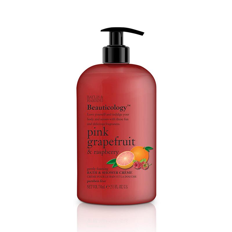 Baylis & Harding Beau Pink Grapefruit & Raspberry 500 Ml Shower Cream