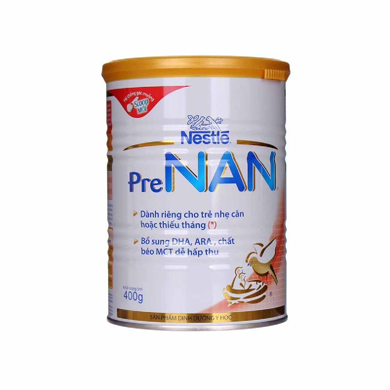 Nestle Pre Nan Formula Milk  Tin 400 Gr