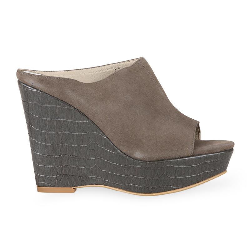 Winston Smith Cindy Sandal Heels 10002-Grey