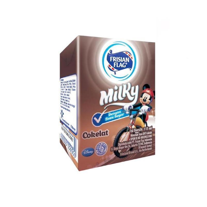 Bendera Milky Cair Coklat 115 Ml