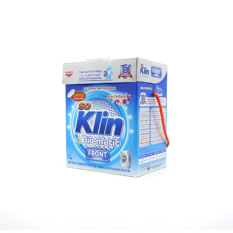 So Klin Detergent Biomatic Front Load 1Kg