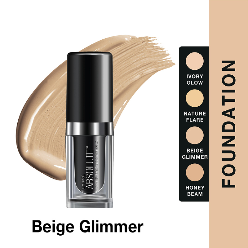 Lakme Absolute Reinvent Illuminating Foundation - Beige Glimmer