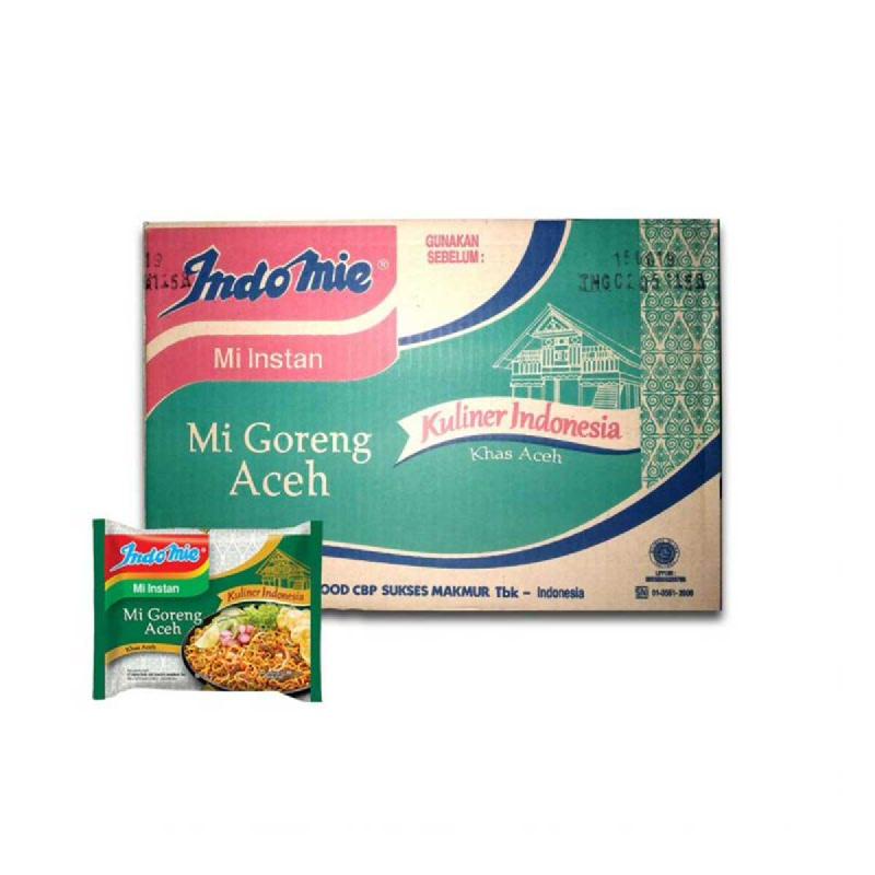 Indomie Mie Instan Goreng Aceh 90 Gr (1 Karton)