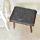 Livien Furniture Kursi Bangku Sofa Kotak Kayu Adresia Stool Coklat