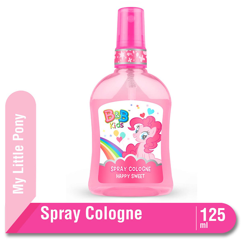 B&B Kids Spray Cologne Little Pony Happy Sweet 125 Ml