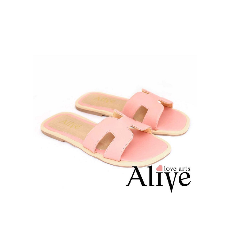 AliveLoveArts Hers Sandals Pink