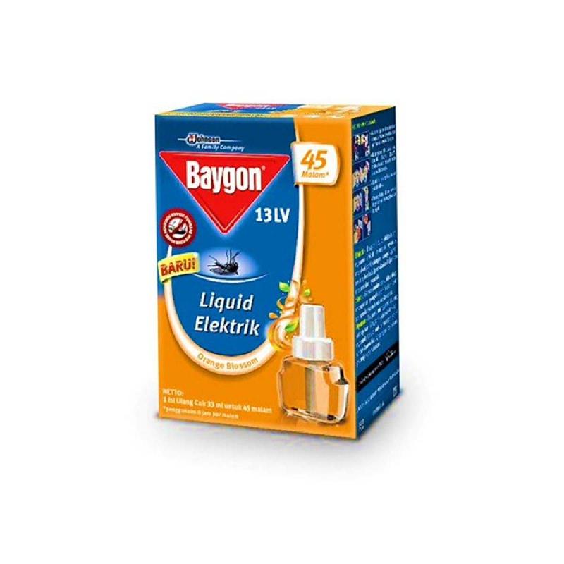 Baygon Liquid Electric Orange Blossom 33ml