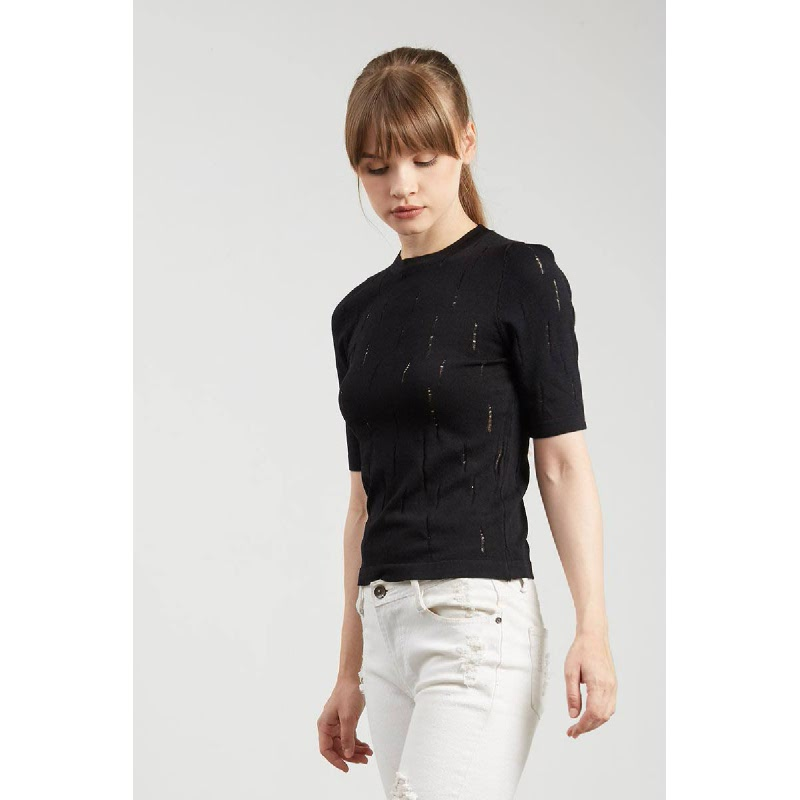 Francois Meuzel Top in Black