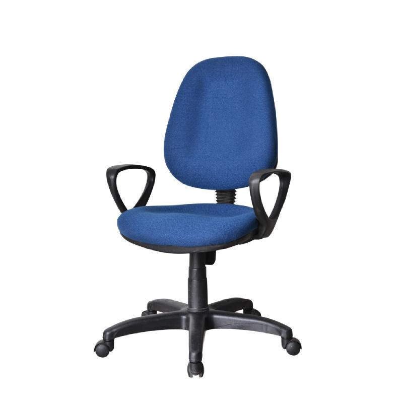 HighPoint Kursi kerja kursi kantor BK Series - BK26 Navy Blue