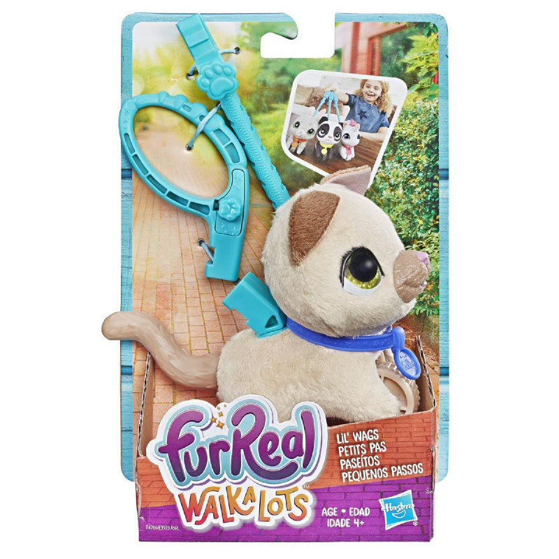 furReal Walkalots Lil' Wags, Kitty FRRE4766