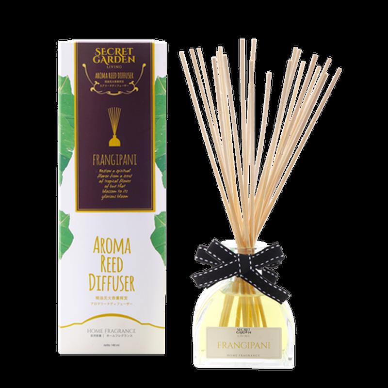 Secret Garden Aroma Reed Care Frangipani 140 ml