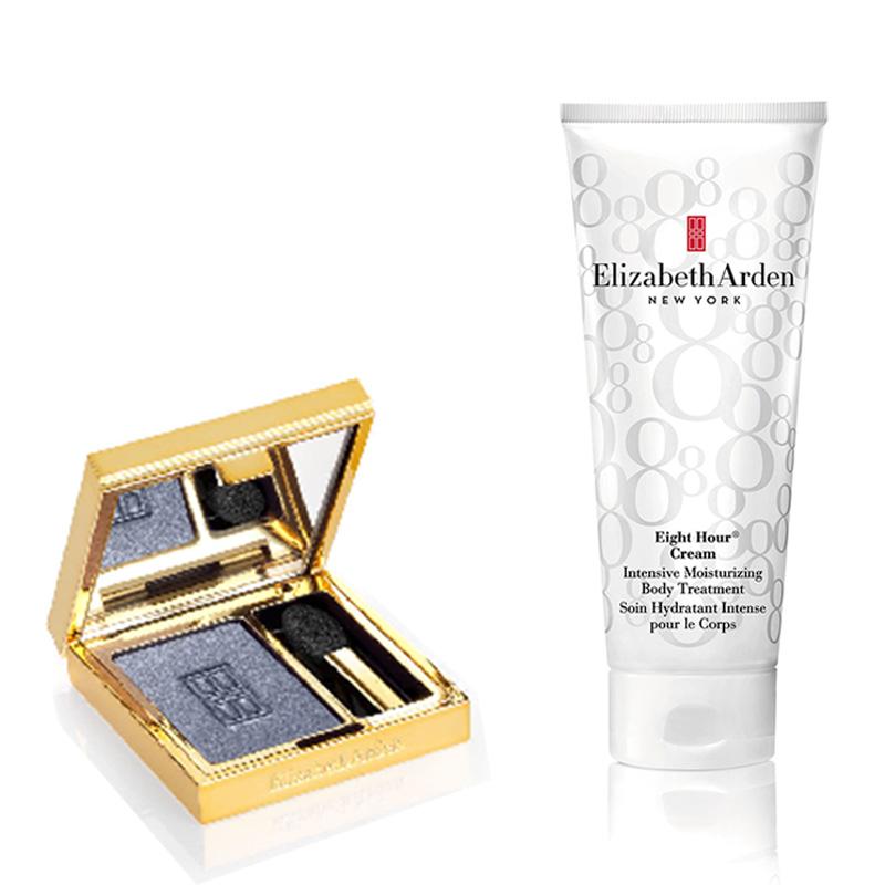 Elizabeth Arden Eight Hour Body Intensive Cream+Beautiful Color Eyeshadow single Periwinkle