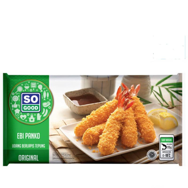 So Good Udang Tepung Panko isi 10 pcs