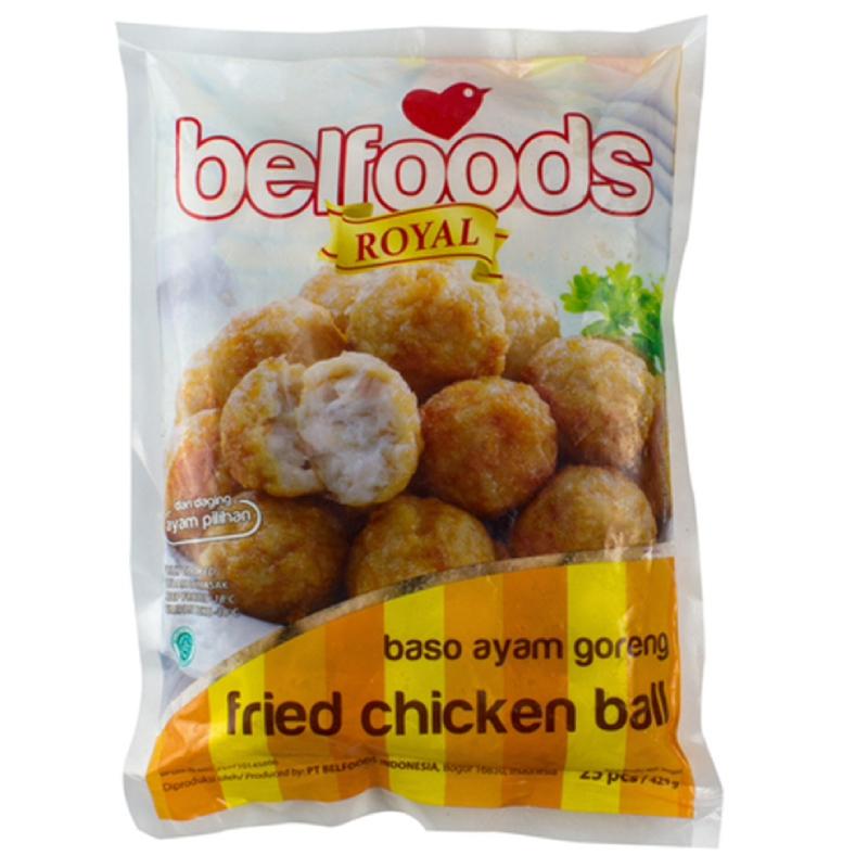 Belfoods Royal Baso Goreng Ayam 425Gr