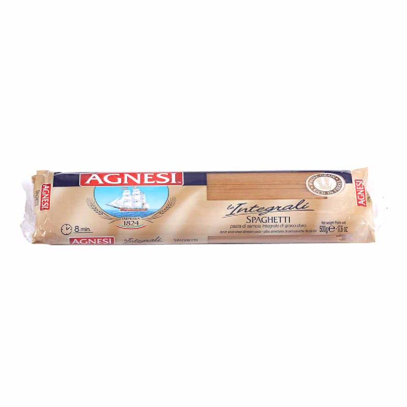 Agnesi Spaghetti Wheat 500G