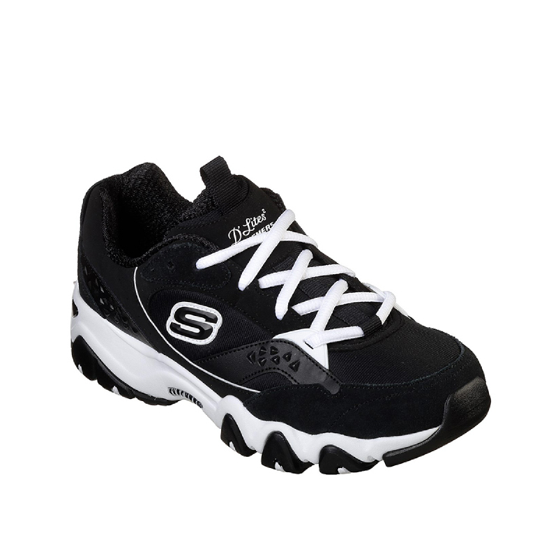 Skechers DLites 2 - Dreamful Women Sneakers Shoes Black
