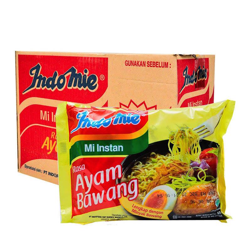 Indomie Mie Instant Ayam Bawang 69 Gr (1 Karton) (B)