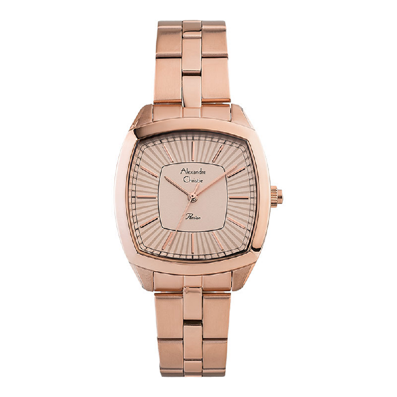 Alexandre Christie Passion AC 2883 LH BRGLN Ladies Rose Gold Dial Rose Gold Stainless Steel