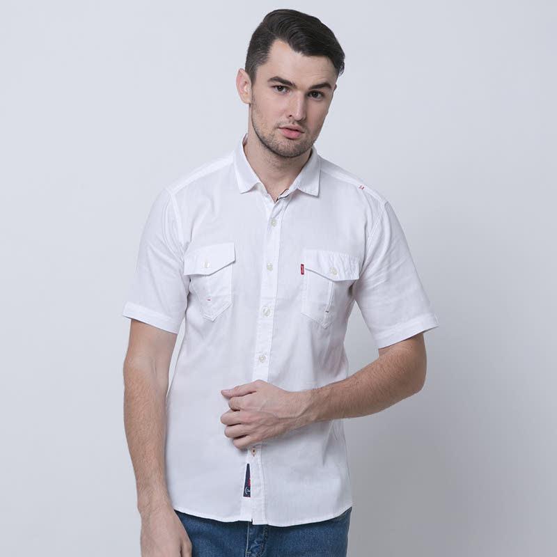 Brian-Whtwhite Shirt Man