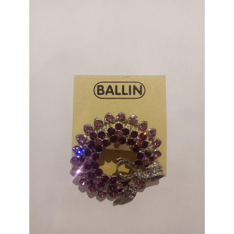 Ballin Women Brooch NM-BR030015-A2.SU Silver