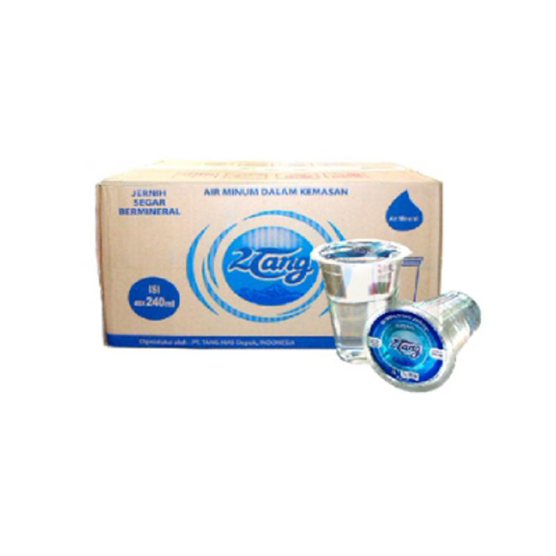2 Tang Air Mineral Gelas 1 Karton