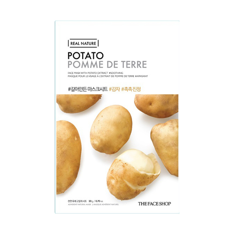 The Face Shop Real Nature Face Mask Potato 2017