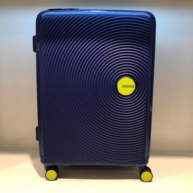 American Tourister AO8-51001 Curio Spinner 55-20 TSA Nautical Blue