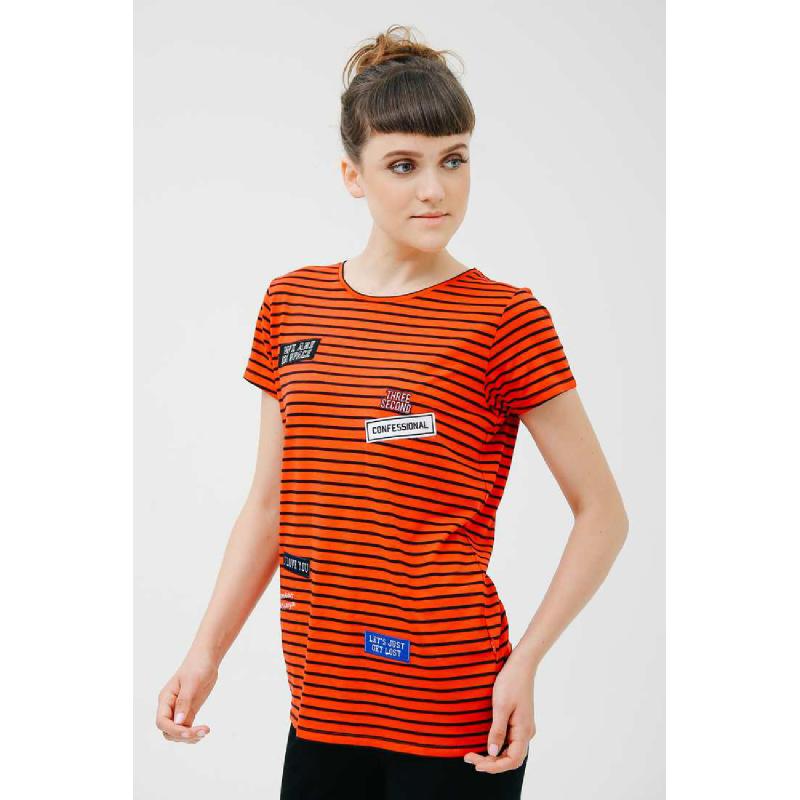 3Second Women Tshirt 6001.Orange