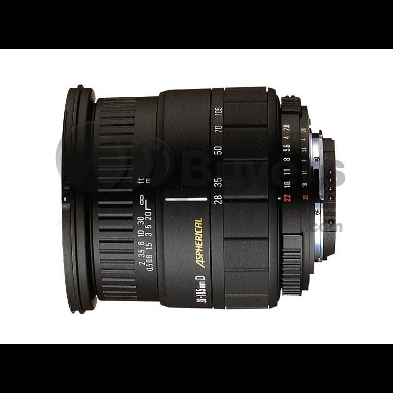 Sigma 28-105mm F2.8-4 IF SIGMA