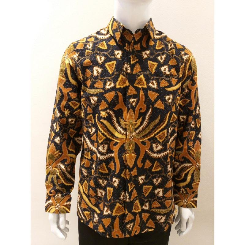 Asana Batik Long Sleeve LS0771BLK Black